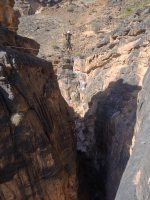Snake canyon, Jebel Akhdar 13