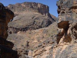Snake canyon, Jebel Akhdar 16