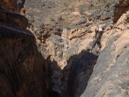 Snake canyon, Jebel Akhdar 15