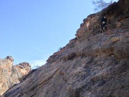 No Slicks, Pilier Ouest, Snake Canyon, Wadi Bani Awf, Oman 15