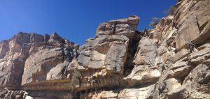Ferrata du Jebel Shams, Jebel Akhdar 18