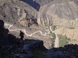 No Slicks, Pilier Ouest, Snake Canyon, Wadi Bani Awf, Oman 17