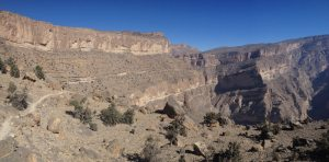Ferrata du Jebel Shams, Jebel Akhdar 4
