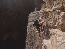 Snake canyon, Jebel Akhdar 5