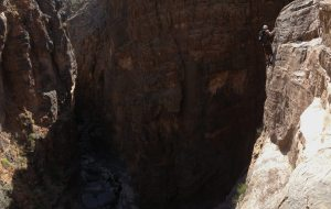 Snake canyon, Jebel Akhdar 6
