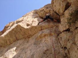 Wadi Dayqah sport climbing, Quriyat, Oman 5