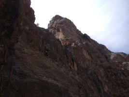 No Slicks, Pilier Ouest, Snake Canyon, Wadi Bani Awf, Oman 6