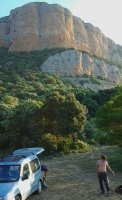 Pornostar a la Roca Alta, Vilanova de Meïa, Espagne 3