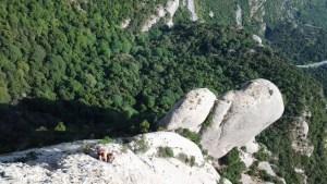 Punsola-Reniu al Cavall Bernat, Montserrat, Espagne 4