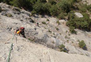 Basalm del Tigre a la paret Bucolica, Oliana 5