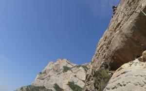 Basalm del Tigre a la paret Bucolica, Oliana, Espagne 10