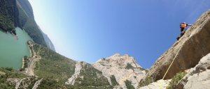 Basalm del Tigre a la paret Bucolica, Oliana 13