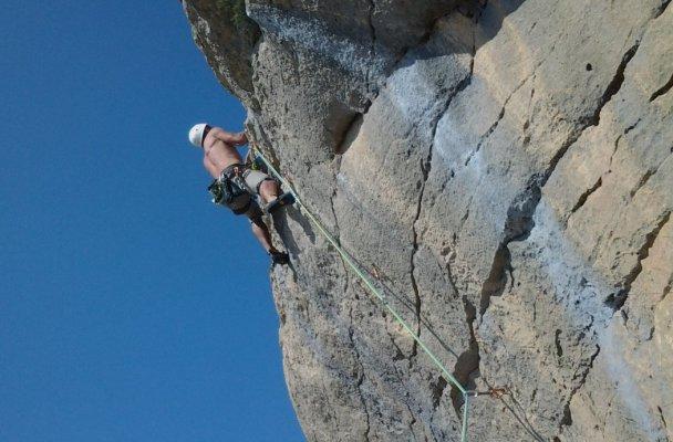 Pornostar a la Roca Alta, Vilanova de Meïa, Espagne 2
