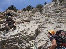 Basalm del Tigre a la paret Bucolica, Oliana 18