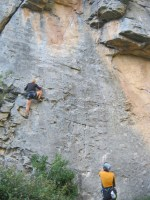 Sport climbing, Rodellar, Espagne 18