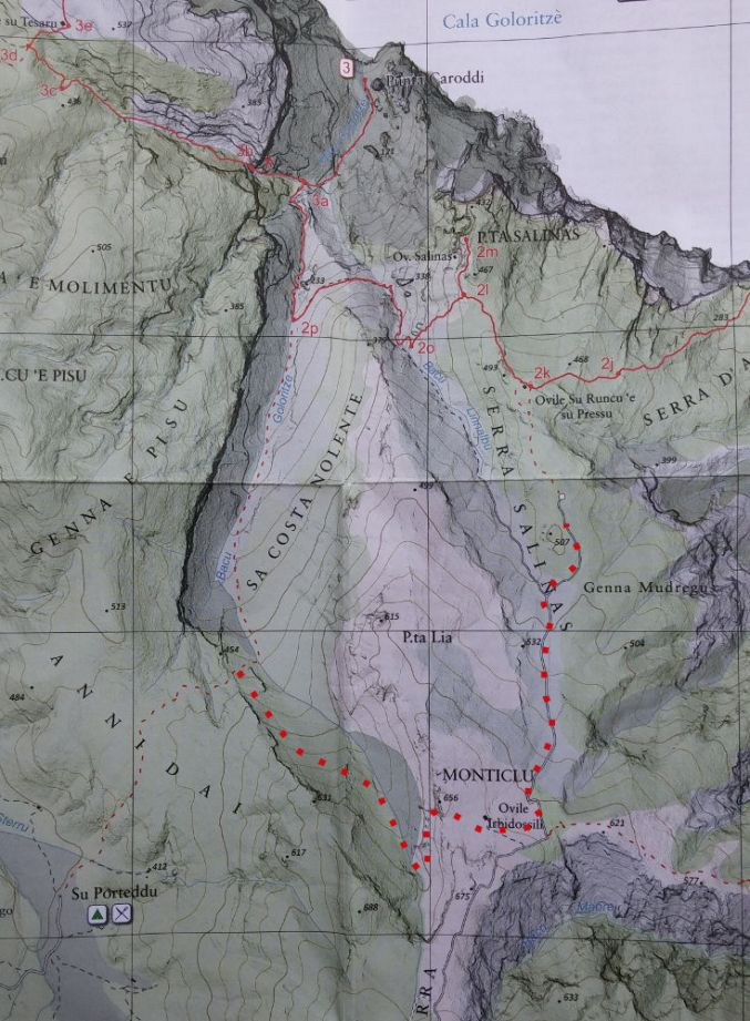topo Punta Salinas