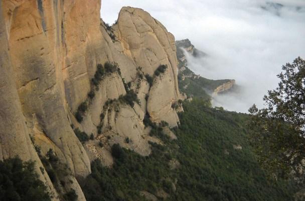 Canal del Cavall Bernat, Montserrat 2