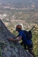 Via Aleix a la Punxa, Montserrat, Espagne 11