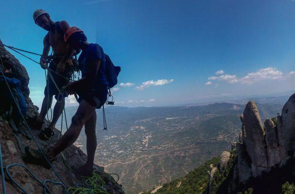 Via Aleix a la Punxa, Montserrat 2
