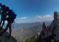 Via Aleix a la Punxa, Montserrat, Espagne 19