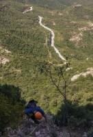 Desideratum a l'Agulla dels Espeleolegs, Montserrat, Espagne 8