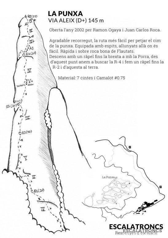Topo extrait sur site Escalatroncs