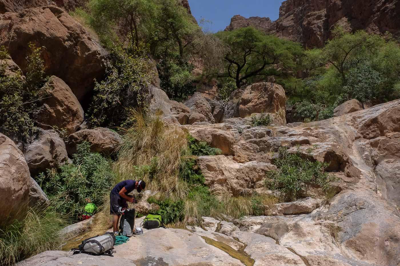 Wadi Kamah, Sayq Plateau 48