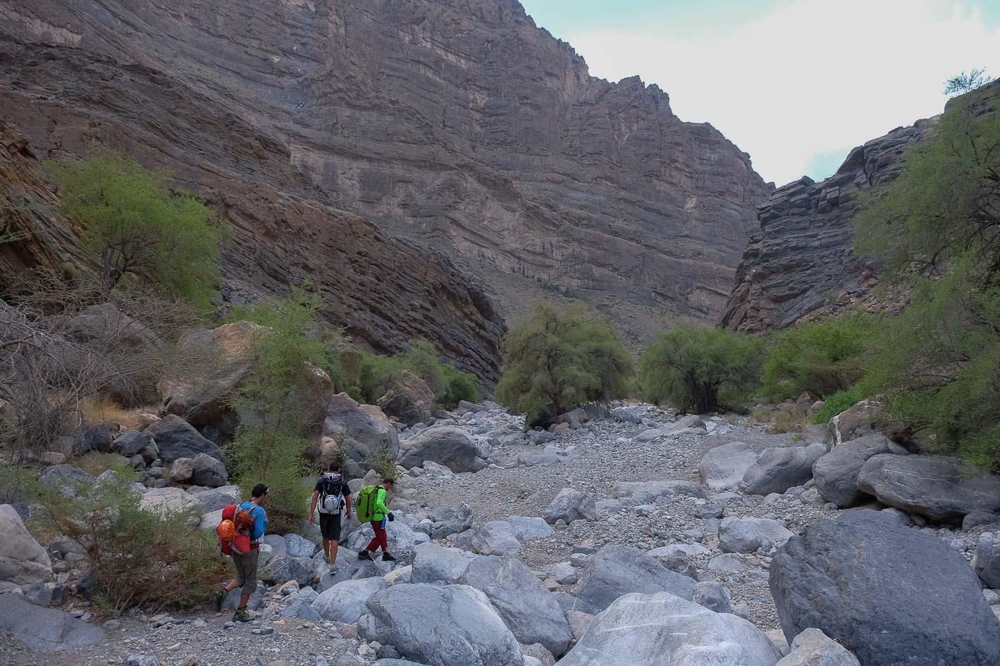 Wadi Kamah, Sayq Plateau 80