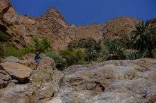 Goulet d'accès au Wadi