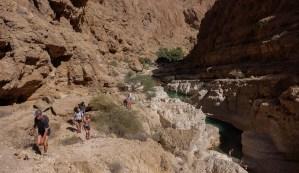 Wadi Shab, Hajar Oriental 14