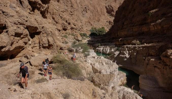 Wadi Shab, Hajar Oriental 17