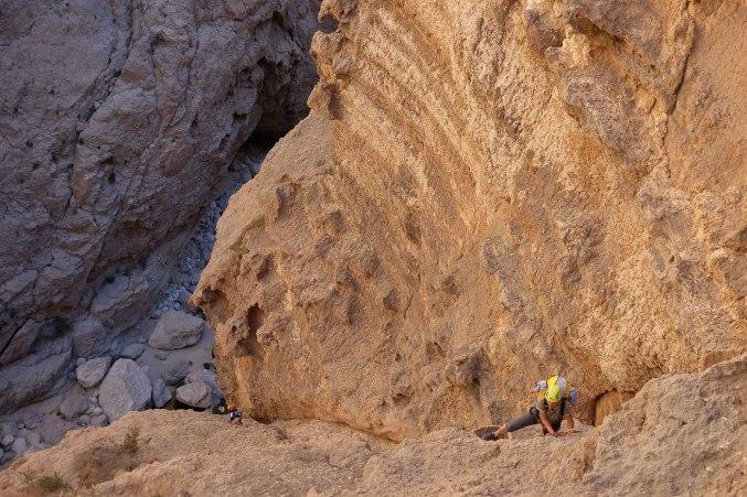 Mibam à Umq Bir, sentier bédouin, Wadi Tiwi, Oman 3