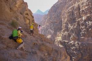 Mibam à Umq Bir, sentier bédouin, Wadi Tiwi, Oman 22