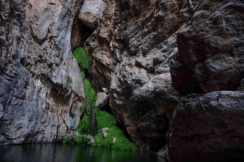 Wadi Halfain, Sayq Plateau 59