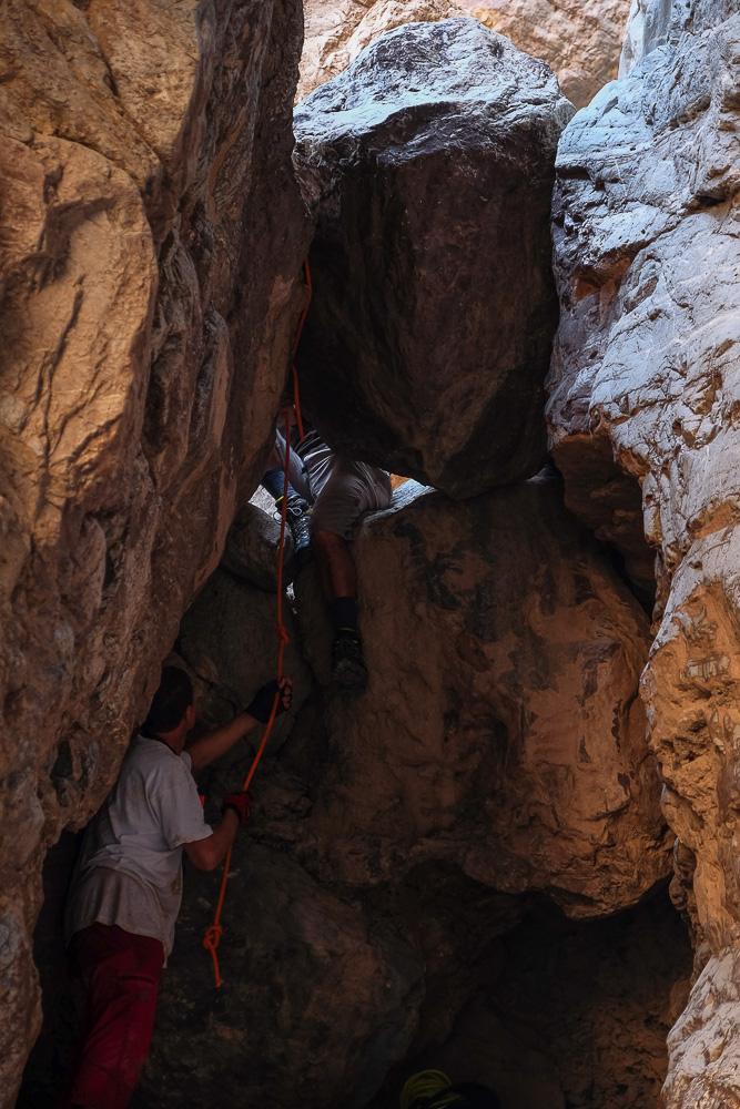 Wadi Halfain, Sayq Plateau 81