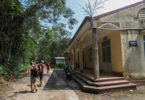 Viet Haï trek, Cat Ba Island, Vietnam 5