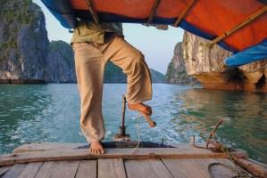 Viet Haï trek, Cat Ba Island, Vietnam 29
