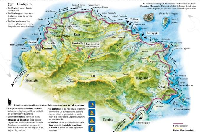 Macinaggio à Bargaggio, sentier des douaniers, Cap Corse 4