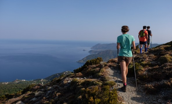 Les crêtes de Pinu, Corse 1