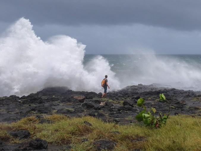 Dumazilé, un cyclone passe au large, La Réunion 3