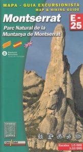 Carte et guide randonnées Montserrat