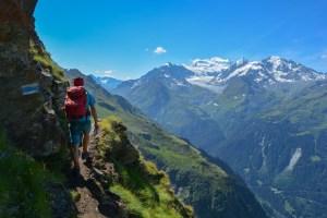 Le sentier des chamois, Valais, Suisse 19