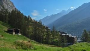 Höhbalmen Trail, Zermatt, Valais, Suisse 4