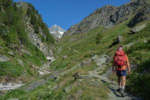 Höhbalmen Trail, Zermatt 9