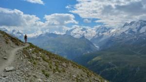 Höhbalmen Trail, Zermatt, Valais, Suisse 26