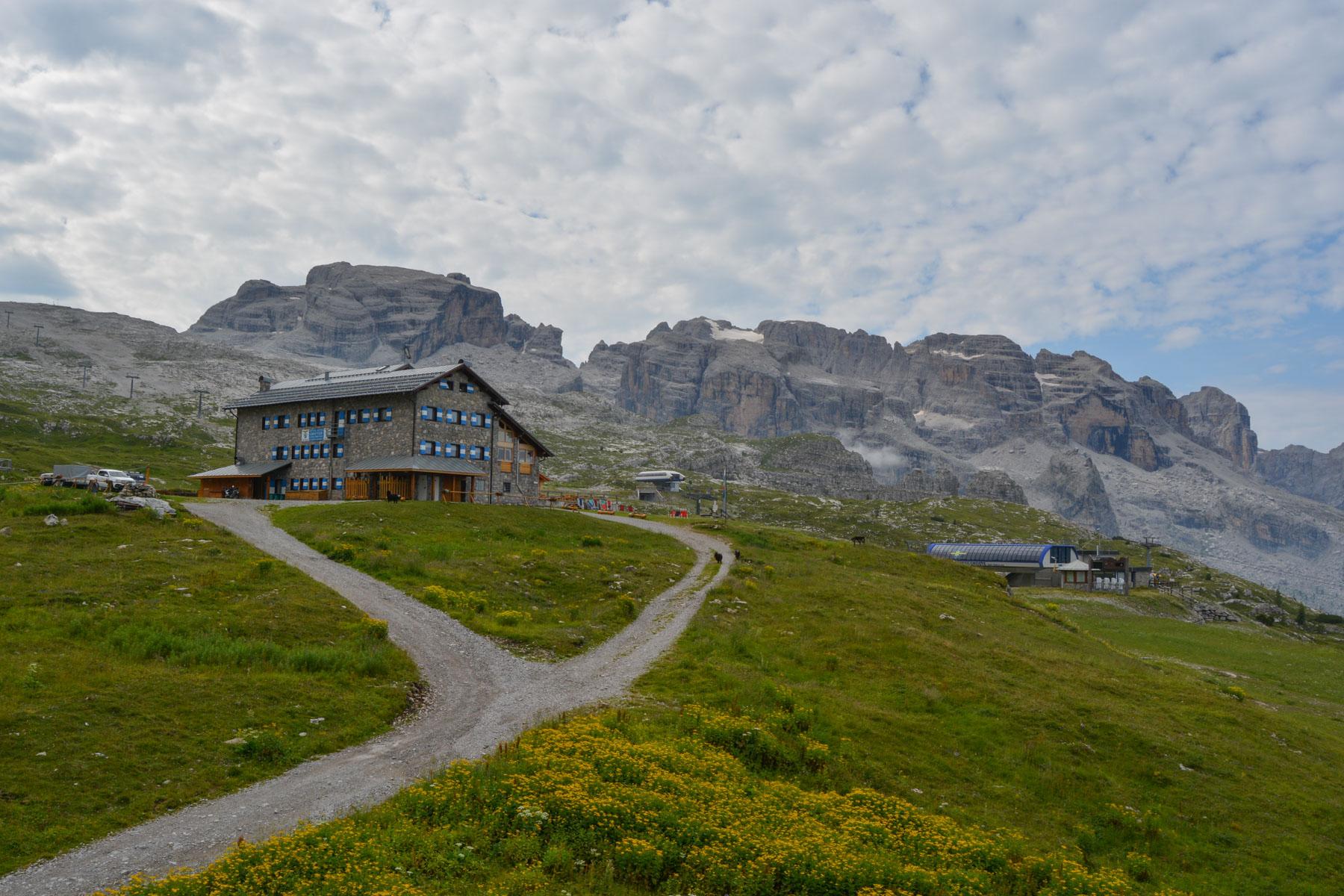 Sentiero Benini, Dolomites 4