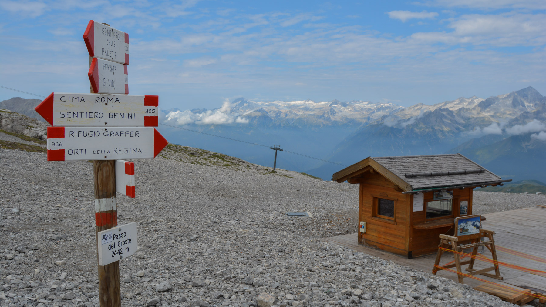 Sentiero Benini, Dolomites 5