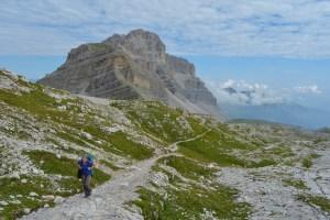 Sentiero Benini, Dolomites 60