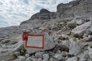 Sentiero Benini, Dolomites 61