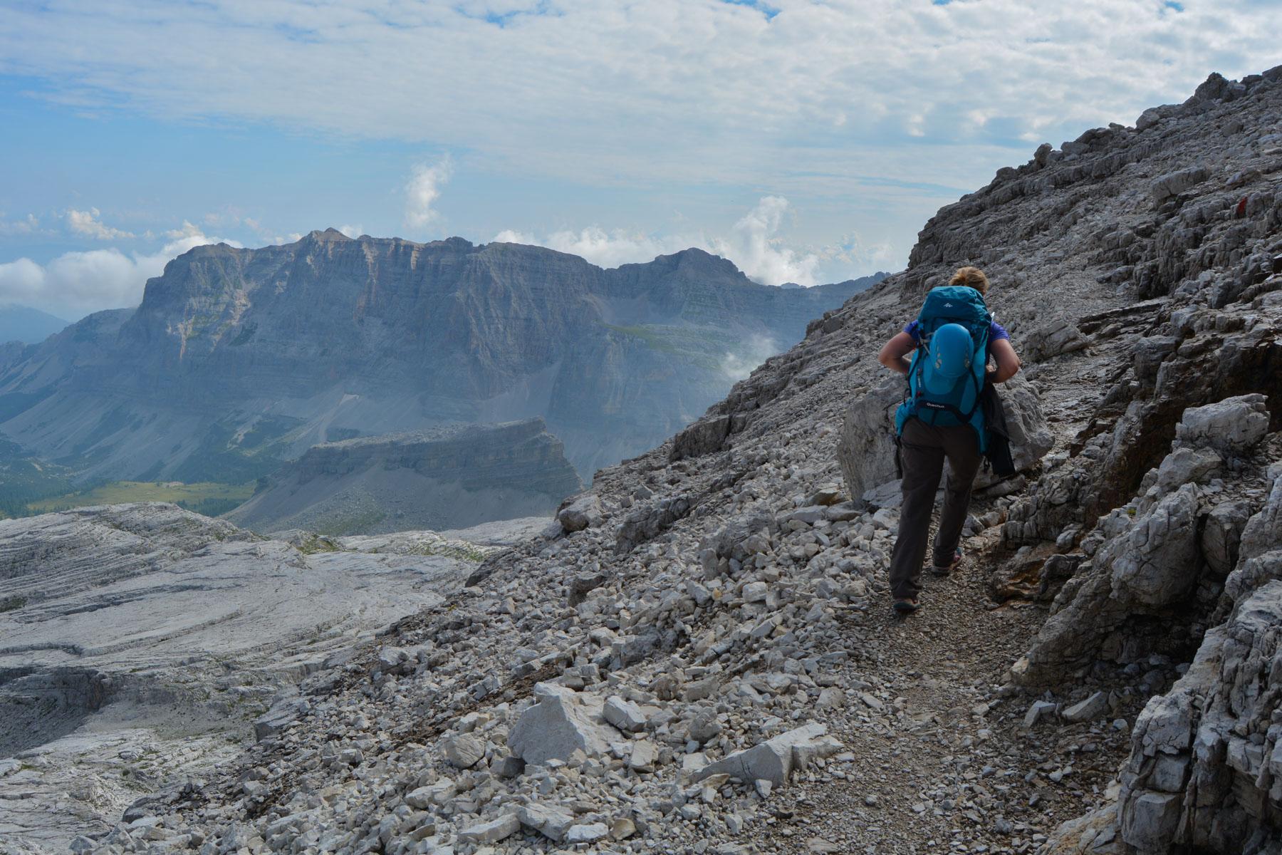 Sentiero Benini, Dolomites 13